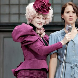 Effie Trinket e Katniss Everdeen