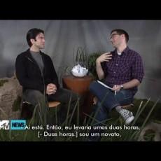 Wes Bentley em entrevista à MTV