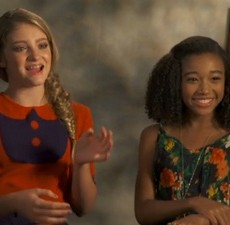 Willow Shields e Amandla Stenberg