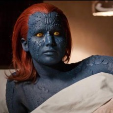 Jennifer Lawrence em X-Men First Class