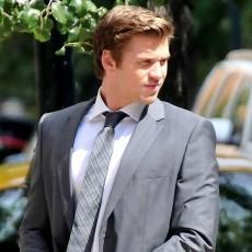 Liam Hemsworth nos bastidores de Paranoia