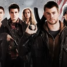 Pôster de Red Dawn, com Josh Hutcherson