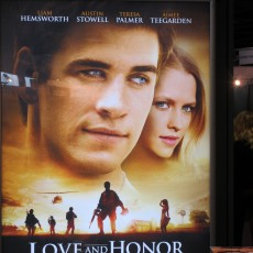 Love & Honor com Liam Hemsworth