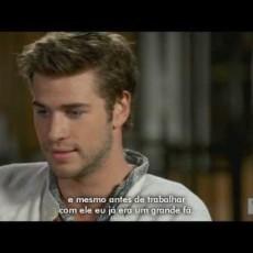 """Vídeo da Semana: Liam Hemsworth fala sobre """"Em Chamas"""" e mais"""