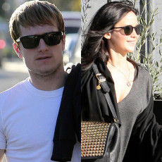 Josh Hutcherson e Jennifer Lawrence