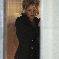 Jennifer Lawrence nos sets de Abscam