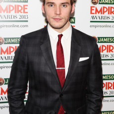 Sam Claflin no Jameson Empire Awards 2013
