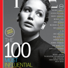 Jennifer Lawrence na capa da revista Times
