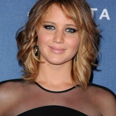 Jennifer Lawrence no GLAAD Media Awards 2013
