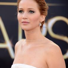Jennifer Lawrence durante o Oscar 2013