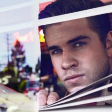 Liam Hemsworth em ensaio fotográfico para a revista GQ