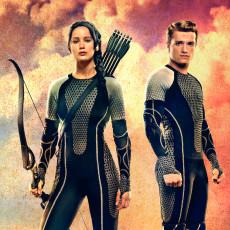 """Katniss e Peeta em """"Em Chamas"""""""