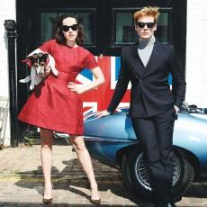 Jena Malone e Sam Claflin em ensaio fotográfico para Glamour