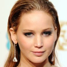 Jennifer Lawrence no Bafta 2013