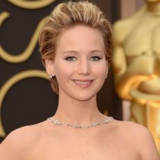 Jennifer Lawrence no Oscar 2014