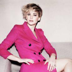 Jennifer Lawrence em ensaio fotográfico para Marie Claire