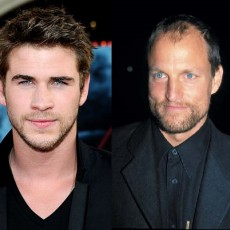 Liam Hemsworth e Woody Harrelson