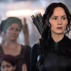 Jennifer Lawrence como Katniss Everdeen em A Esperança - Parte 1