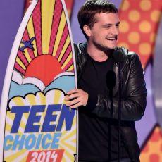 Josh Hutcherson no Teen Choice Awards 2014