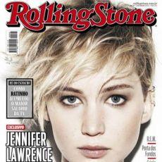 Jennifer Lawrence na capa da Rolling Stone Brasil