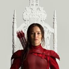 Katniss Everdeen em pôster de A Esperança: O Final
